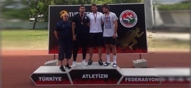 Kul disk atmada yine Türkiye Şampiyonu