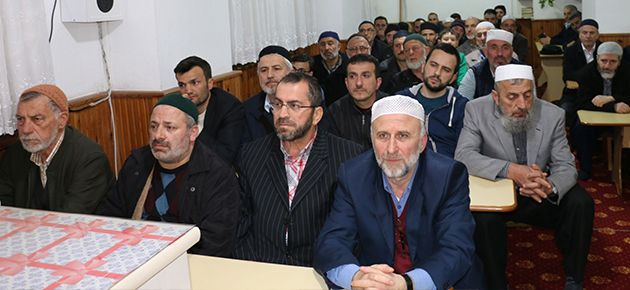 Kur'an gönüllülerinden dönem sonu programı