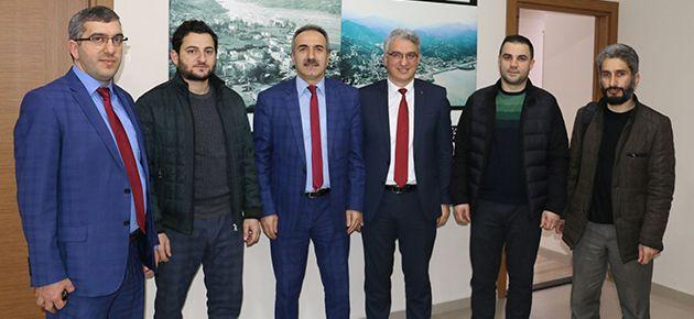 Medya Derneği'nden Yaşar'a hayırlı olsun ziyareti