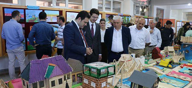 Mikdat Sarıalioğlu Okulundan yılsonu sergisi