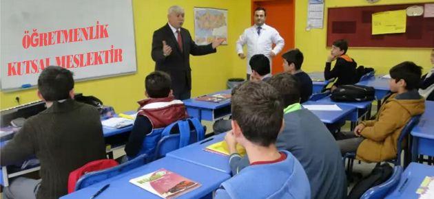 Milli Eğitim Müdüründen Okul Ziyaretleri