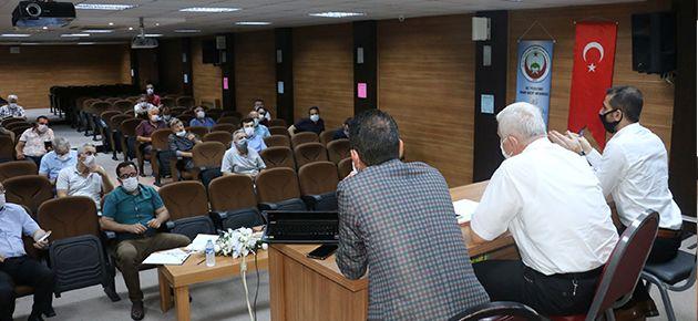 Müdürler Toplantısı Tedbirlerle Yapıldı