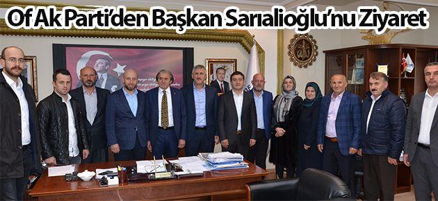 Of Ak Parti'den Başkan Sarıalioğlu'nu Ziyaret