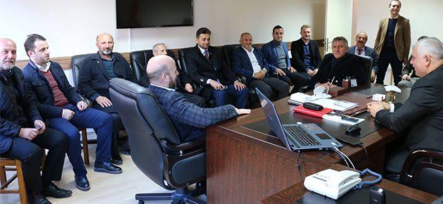 Of AKP'den Of MEM Ziyareti