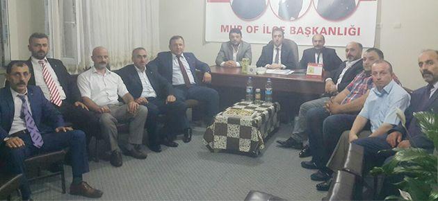 Of MHP Yeni Yönetim ile İlk Toplantısını Yaptı