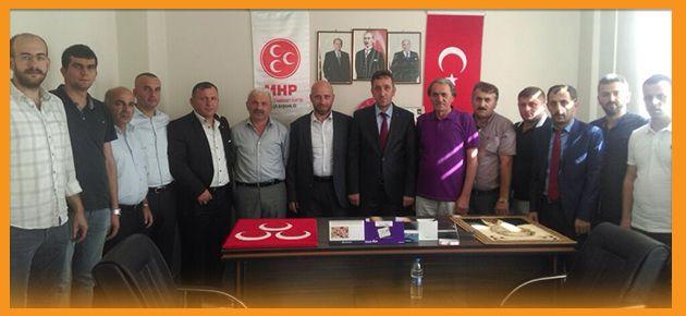 Of MHP'ye Tebrik Ziyareti