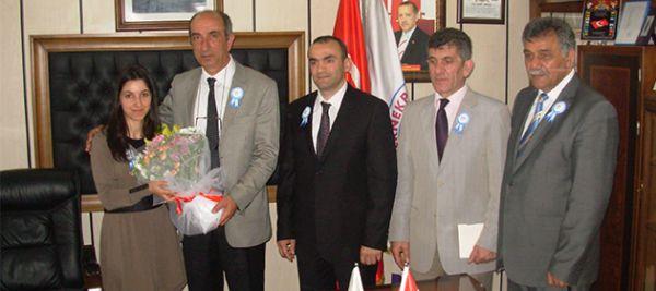 OF SGK başkanları ziyaret etti