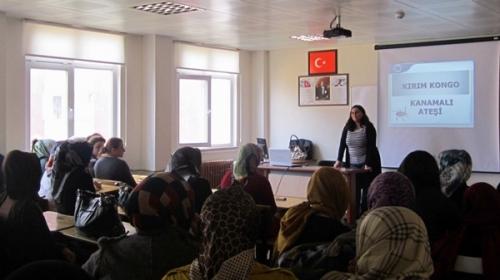 Oflu bayanlar için eğitim semineri düzenlendi