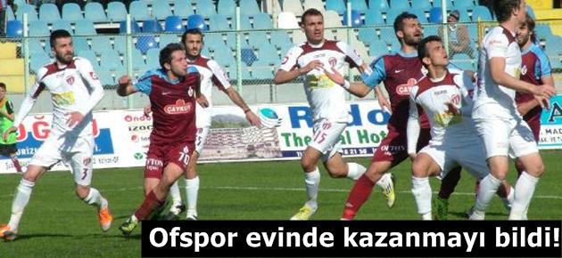 Ofspor: 1 - Tarsus İdman Yurdu: 0