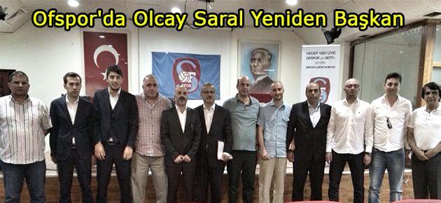 Ofspor'da Olcay Saral Yeniden Başkan
