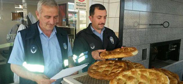 Of'ta Fırınlara Ramazan Denetimi