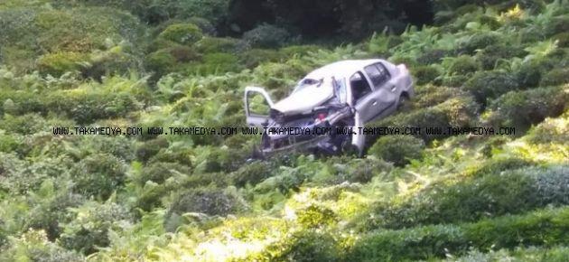 Of'ta Kaza 1 Ölü 1 Yaralı