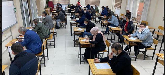 Of'ta Oto Alım Satım Yapanlar Sınava Girdi