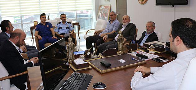 Of'ta Seçim Güvenlik toplantısı