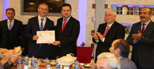 Öğretmen Mustafa Kasap'a veda etkinliği
