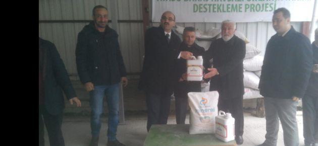 Organik tarım yapan çiftçiler teşekkür etti