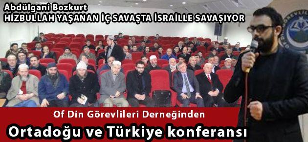 Ortadoğu ve Türkiye konferansı