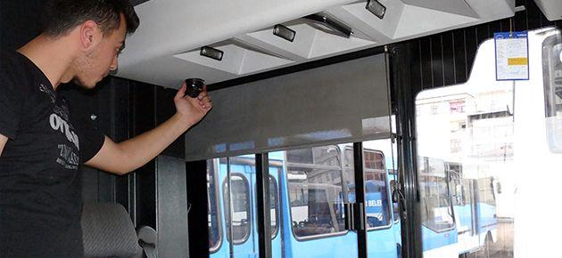 Otobüsler Kamera Sistemi ile Donatıyor