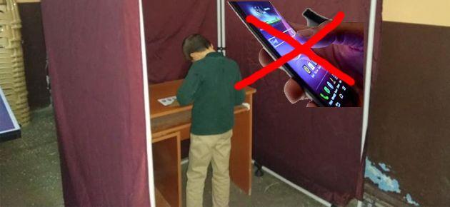 Oy kullanırken dikkat edin.