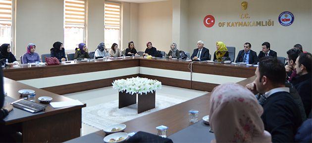Rehber öğretmenler 2. dönem için toplandı