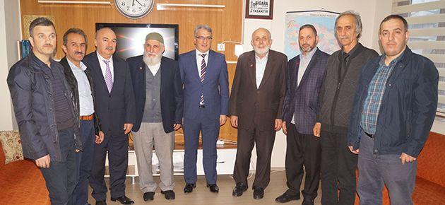 Saadet Partisi'nden Memursen'e ziyaret