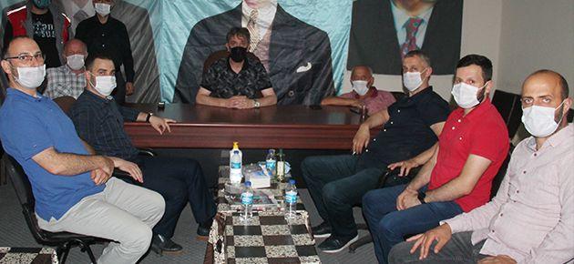 Saadet'ten MHP Ziyareti