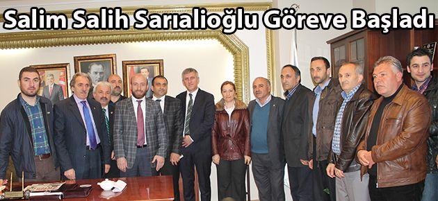 Salih Salim Sarıalioğlu Mazbatasını Aldı