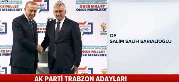 Sarıalioğlu yeniden aday!