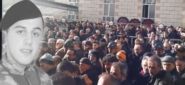Şehit Cenazesi Hayrat'ta Defnedildi