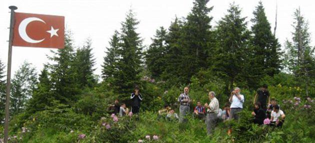 Şehitler tepesinde piknik etkinliği