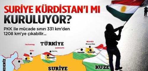 Suriye'de Batı Kürdistan kurulabilir!