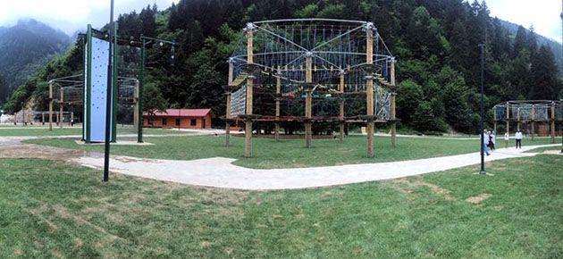 Tabiat Macera Parkı tamamlandı