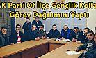AK Parti Of İlçe Gençlik Kolları Görev Dağılımını Yaptı
