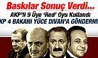 AKP, 4 eski bakanı Yüce Divana göndermiyor!