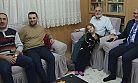 Başkan Vahapoğlu'na geçmiş olsun ziyareti