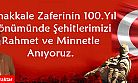 Bayraktar'dan Çanakkale mesajı
