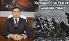 Kaymakam Fırat'tan Çanakkale Mesajı