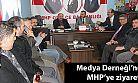 Medya Derneği'nden MHP'ye ziyaret