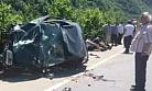 Of-Çaykara Yolunda Trafik Kazası