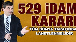 Özçelik'ten 529 İdam Kararı Açıklaması