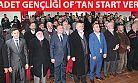 SAADET GENÇLİĞİ OF'TAN START VERDİ!