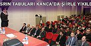 ASRIN TABULARI KANCA'DA ŞİİRLE YIKILDI