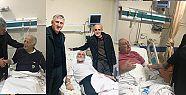 Başkan Sarıalioğlu'ndan Hasta Ziyaretleri