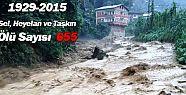 Bölümlü'de Yaşanan Sel Felaketinde 146