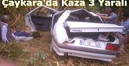 Çaykara´da Trafik Kazası