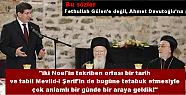 """<font style=""""color:#ff0000"""">Davutoğlu'ndan şok dinlerarası diyalog sözleri!</font>"""