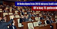 Of Belediyesi'nin 2015 bütçesi belli...