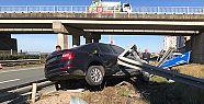 Of Girişinde Trafik Kazası!