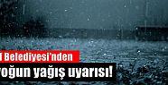 Of için yoğun yağış uyarısı!
