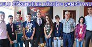 Oflu Öğrenciler Türkiye Şampiyonu